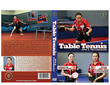 Table Tennis Instructional DVD - Olympic Silver Medalist Gao Jun - Free Shipping