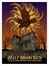 HALF MOON RUN CONCERT POSTER LIMITED EDITION SCREEN PRINT BY PAT HAMOU