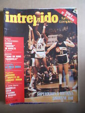 INTREPIDO n°2 1981 Super Derby Basket a Bologna Sinudyne - LEB  [G421]