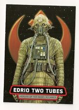 2016 STAR WARS ROGUE ONE HEROES OF THE REBEL ALLIANCE #HR-14 EDRIO TWO TUBES