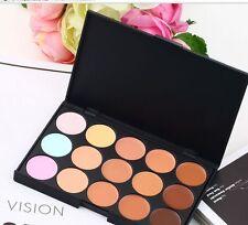 Contour Makeup Concealer Face Powder Camouflage Neutral Palette 15 ColorSet KitL