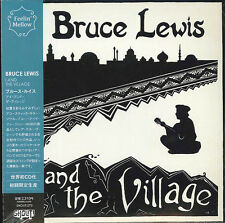 BRUCE LEWIS-I AND THE VILLAGE-JAPAN MINI LP CD E78