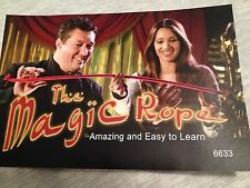 Magic Pro Rope - Magic Stiff Rope - Rope Becomes Stiff or Rigid at Will