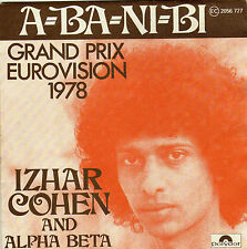 IZHAR COHEN & ALPHA BETA A-BA-NI-BI / ILLUSIONS FRENCH 45 SINGLE