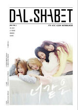 DAL SHABET-[NATURALNESS] 9th Mini Album CD+Photo Book+1p Photo Card K-POP Sealed