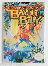 Adventures of Bayou Billy FRIDGE MAGNET video game box nes