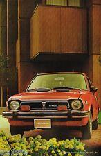 Lrg.1976 HONDA CIVIC CVCC Dealer Sales Brochure / Catalog w/ Color Chart: WAGON,