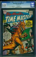 Rip Hunter Time Master 1 CGC 5.5 SIlver Age Key DC Comic 1st In Title L@@K IGKC