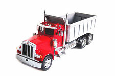 Welly 1:32 Peterbilt 379 Semi Tractor Trailer Dump Truck Diecast Model Collect