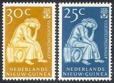 Netherlands New Guinea 1960 WRY/Refugee/Tree 2v  n29030