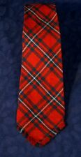 "Vintage CAPE COD WEAVERS Clan MacGregor Tartan Plaid Wool Tie 3 5/8 "" x 52"""
