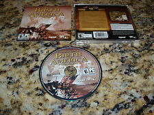 Birth Of America (PC, 2006) Game Windows