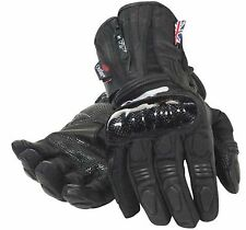 RST TITANIUM OUTLAST MOTORCYCLE GLOVES NEW Waterproof Medium RRP $149 Motorbike