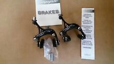 Campagnolo Veloce Dual Pivot F&R Brake Calipers Black with free S/S inner cables