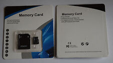 256GB microSD SDXC Flash TF Memory Card Class 10 Micro SD Free SD Adapter Retail
