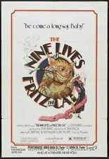 Nine Lives Of Fritz The Cat Poster 01 A4 10x8 Photo Print