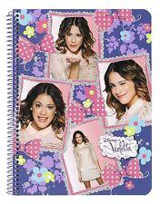 Disney Violetta Notizbuch Notizblock Notizheft Schreibblock Schulheft Block Heft