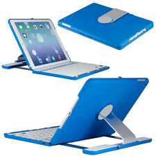 360° Rotating Swivel Bluetooth Keyboard Smart Case Folio Cover For iPad Air 2