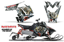 AMR Racing Sled Wrap Polaris Pro RMK Rush Snowmobile Graphics Kit 11-14 IM NOTB