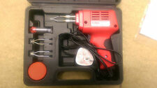 SOLDERING IRON GUN 175W WATT 240V ELECTRIC ELECTRICAL SOLDER KIT + 1 TIP