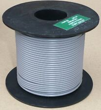 Large Cable Reel 9/0.3mm (0.65mm²) 5 Amp Grey 50M