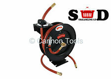 50 FOOT 300PSI WORKSHOP GARAGE COMPRESSOR AUTO REWIND AIR HOSE REEL LINE CT1535