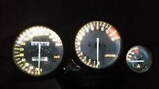 WHITE Yzf1000 thunderace led dash clock conversion kit lightenUPgrade