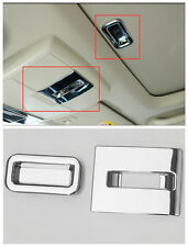 Chrome interior Sun Roof handle + Switch Cover Tirm for Fiat Freemont 2012-2014