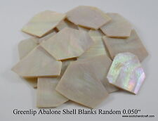 1 oz inlay material greenlip abalone shell blanks large
