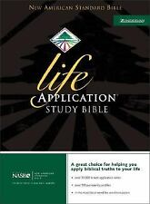 NEW AMERICAN STANDARD  Life Application Study Bible by Zondervan Bonded Leather