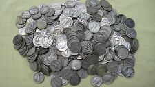 90 % * Silver Mercury Liberty Dimes Lot of 10 ** 1916-1945 ,Face Value 1.00 # 72