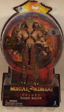 "Mortal Kombat - Deluxe 7"" 20th Anniversary MK9 Video Game Shao Kahn Jazwares MOC"