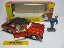 CORGI 313 FORD CORTINA GXL GRAHAM HILL WHIZZWHEELS Original Car Boxed