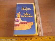 The Beatles Yellow Submarine MGM VHS HTF original yellow case