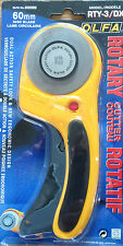 OLFA ROTARY CUTTER 60mm- RTY-3/DX