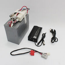 36V 10AH LiFePO4 Battery with BMS and 5A Fast Charger Ebike