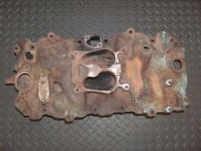 1982 OMC Marine Mercruiser OEM Cast Iron 4 Barrel Intake Manifold 454 Big Block