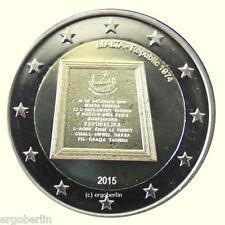 2 Euro Gedenkmünze/Sondermünze Malta 2015  1974 Ausrufung der Republik