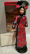 The Princess Of China Barbie Collector Edition Dolls of The World 2001 w/ COA