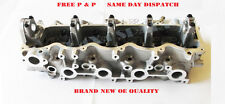 Para Mazda B2500 Pick Up - 2.5TD - WL - 12V Motor Culata Bare nuevo 1998+