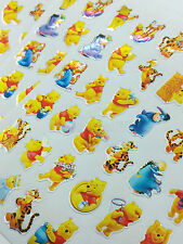 180pcs Pooh Bear Tigger Eeyore Stickers Diary School Book Scrapbook fun kid lot