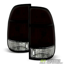 Red Smoked 2000-2004 Toyota Tundra Tail Lights Brake Left+Right 00 01 02 03 04
