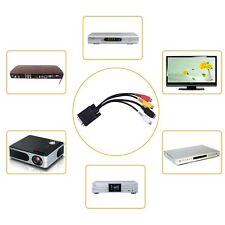Multifunctional VGA SVGA to S-Video 3 RCA AV TV Out Cable Adapter Converter Nice