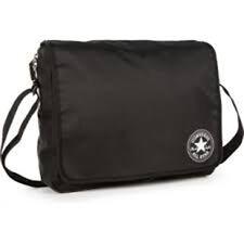 Converse Small Flap Reporter Bag (Black)