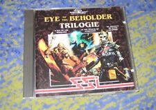 Eye of the Beholder Triologie PC DOS CD Rarität Sammlerstück Erstausgabe