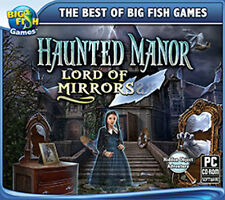 Haunted Manor Lord of Mirrors  a PC Hidden Object Adventure  NEW