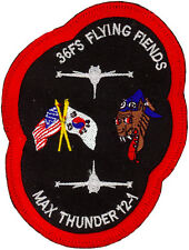 USAF 36th FIGHTER SQUADRON Exercise MAX THUNDER 2012-1  PATCH