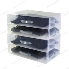 Long Boots Storage Cover Organizer Clear Shoe Boxes Plastic Case US4.5-13.5 New