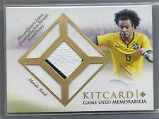 2016 Futera Unique Soccer Kitcard JERSEY RELIC/BALL Marcelo #d 21/32