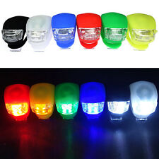 3 Model LED Bicycle Bike Silicone Frog Light Front Rear Firm Safety Light NEW